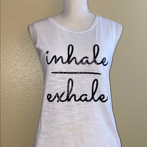 ✨Bella Canvas Inhale/exhale muscle tee✨